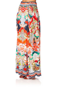 CAMILLA GEISHA GIRL WIDE LEG PANT W GATHERED POCKETS
