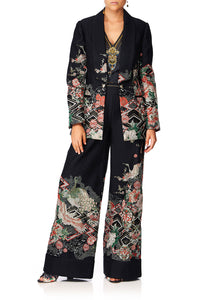CAMILLA MIDNIGHT MOONCHILD JACQUARD JACKET