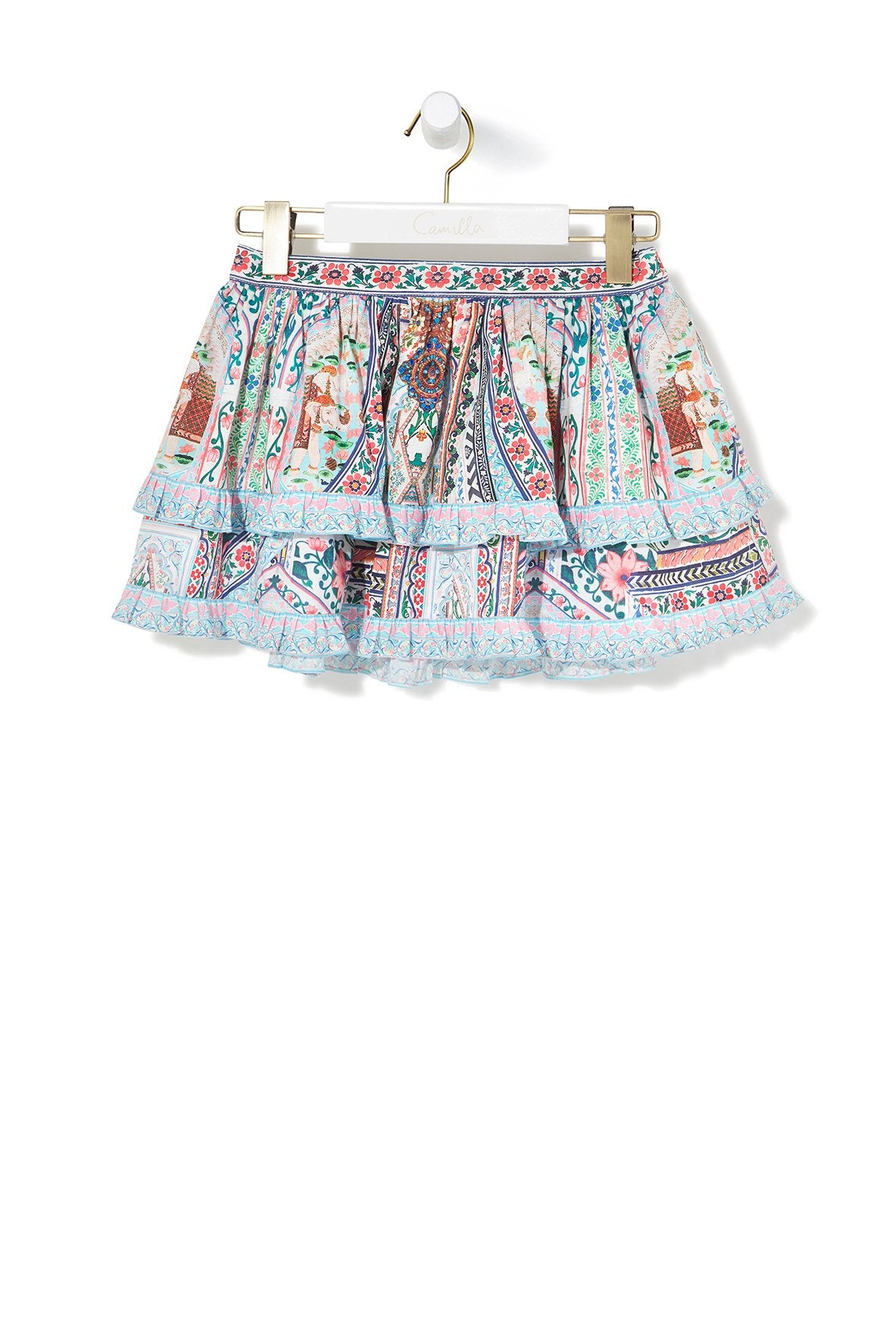 EVERLASTING LIGHT DOUBLE LAYER FRILL SKIRT