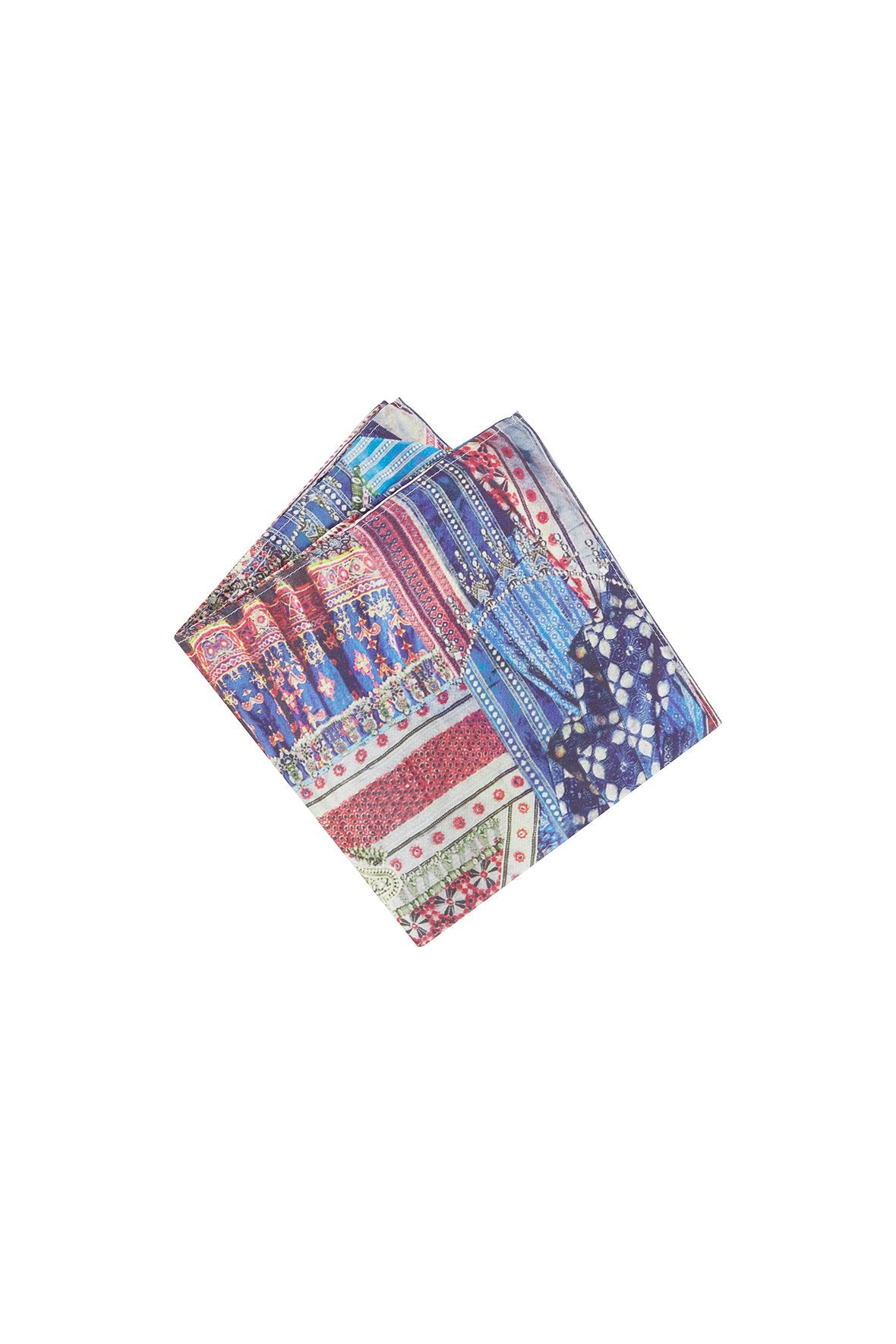 OVERNIGHT BAG MENS POCKET SQUARE