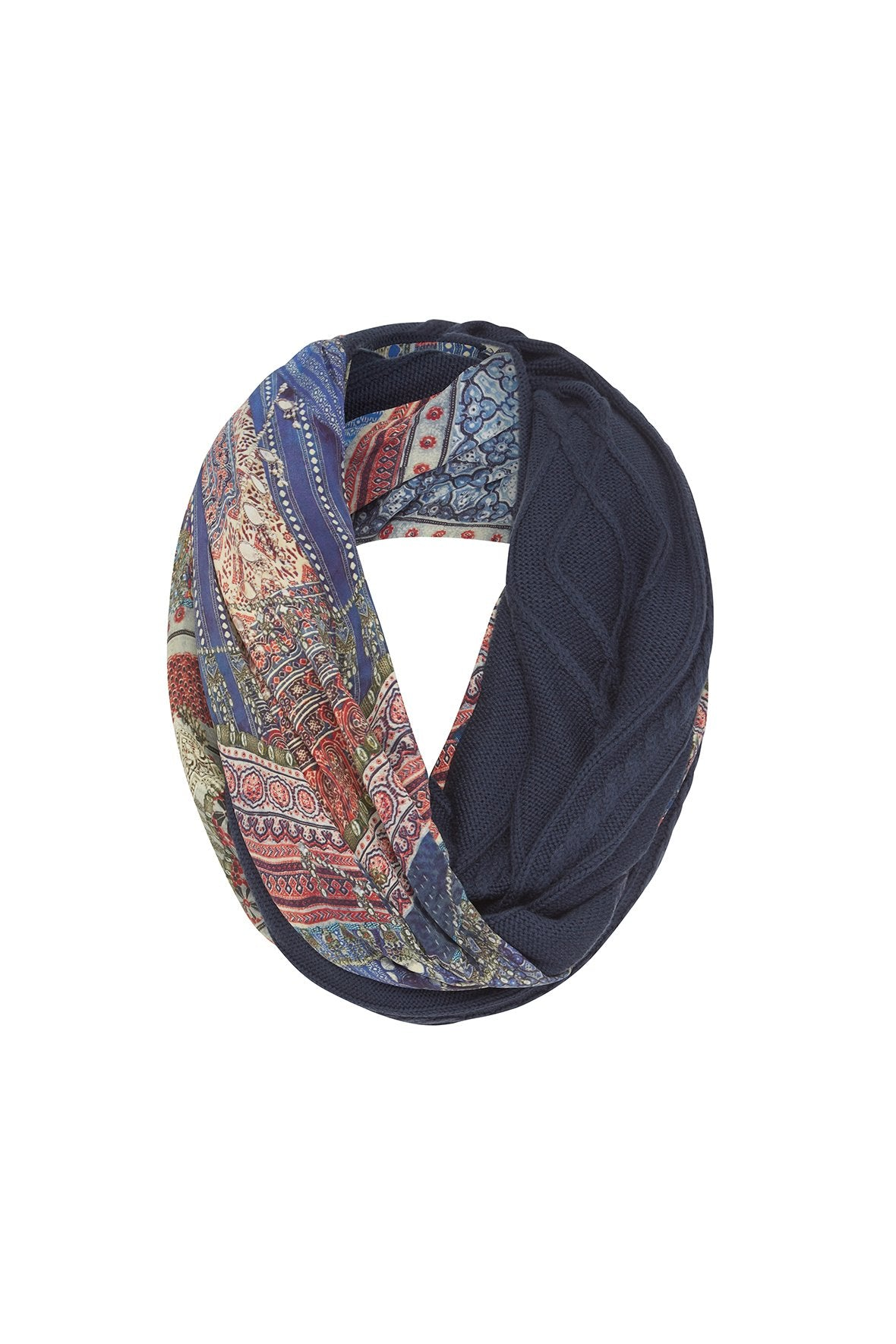 OVERNIGHT BAG DOUBLE SIDED SCARF