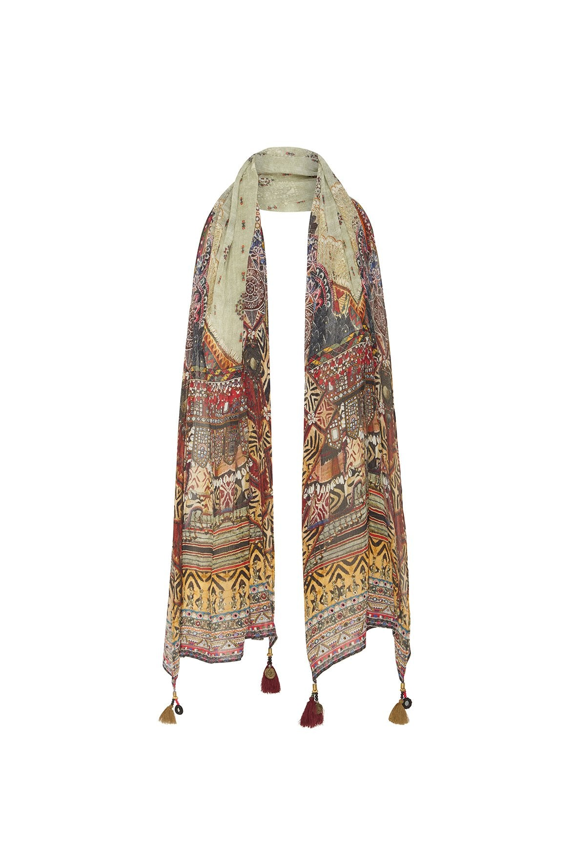 THE CARAVAN LONG SCARF