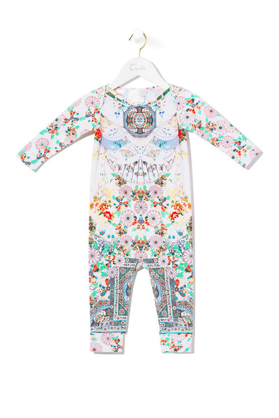 BABIES FULL LENGTH ONESIE TIME AFTER TIME
