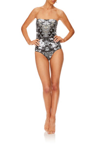 CAMILLA WILD MOONCHILD BANDEAU ONE PIECE