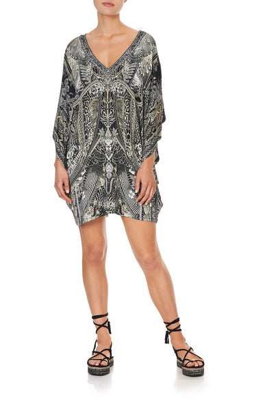 BAT SLEEVE DRESS ONE TRIBE