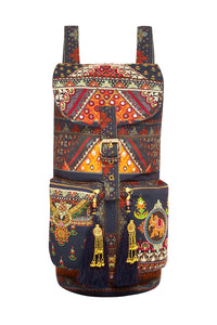 BLISS OF BOHEMIA EMBELLISHED BACKPACK