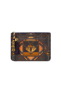 BLISS OF BOHEMIA SMALL CANVAS CLUTCH