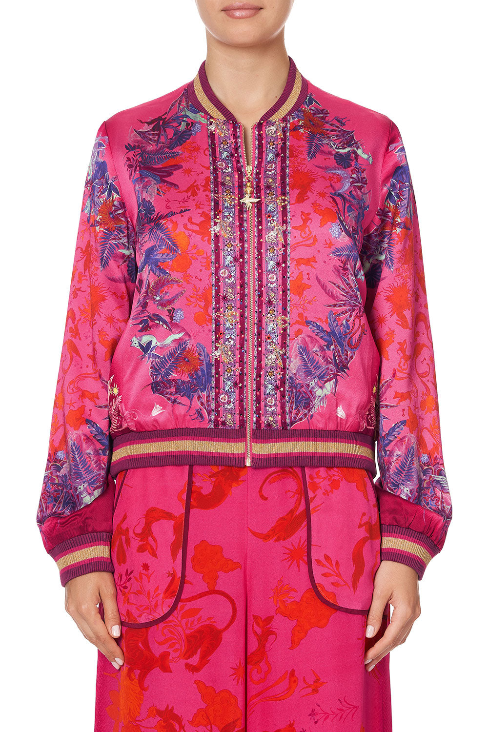 BOMBER JACKET TROPIC OF NEON