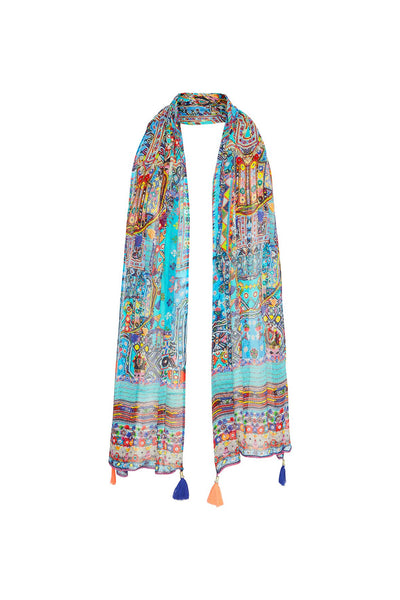 CANVAS OF COLOUR LONG SCARF