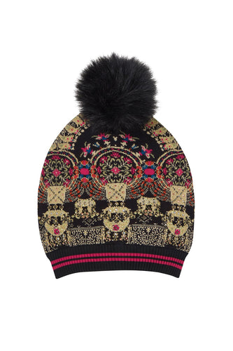 CHAMBER OF REFLECTIONS BEANIE W POM POM