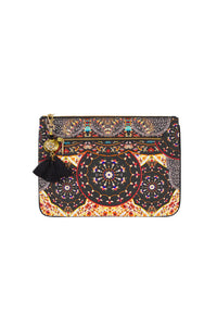CHAMBER OF REFLECTIONS SMALL CANVAS CLUTCH