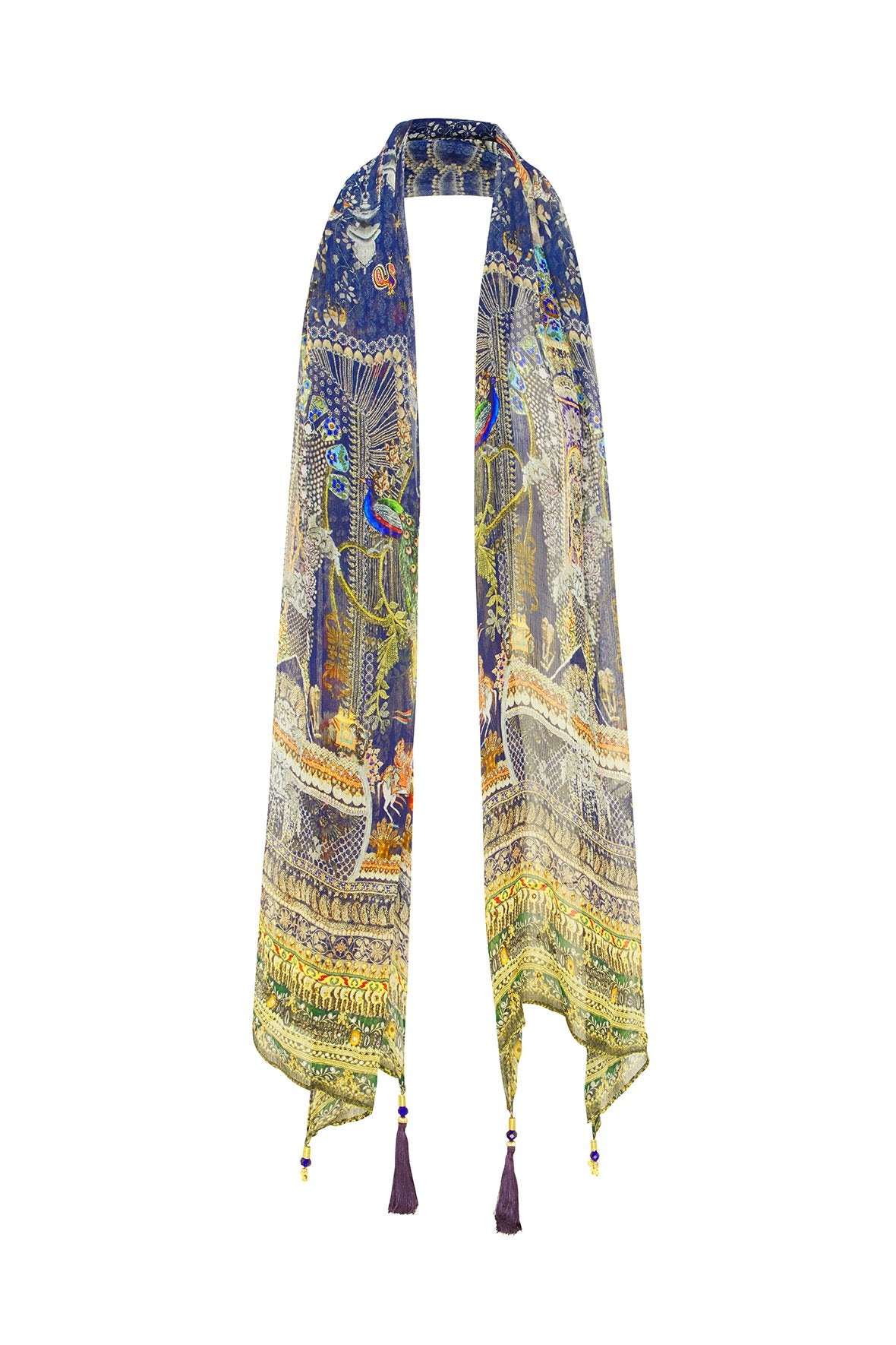 CHILDREN OF THE WORLD LONG SCARF