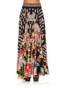 CAMILLA PAINTED LAND CIRCLE SKIRT