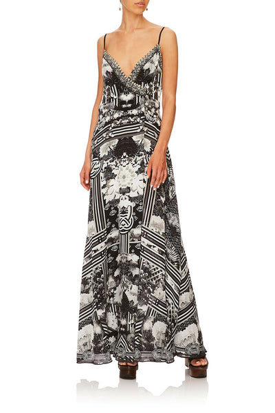CAMILLA WILD MOONCHILD CROSS OVER FRONT DRESS