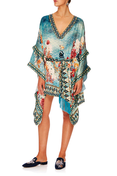 CAMILLA HER HEIRLOOM DOUBLE LAYER KIMONO SLEEVE DRESS