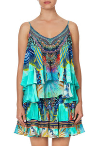 DOUBLE LAYERED CAMI REEF WARRIOR