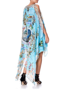 LONG SHEER OVERLAY DRESS GIRL FROM ST TROPEZ