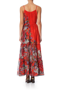 DRESS WITH FRONT TIE DETAIL WONDERING WARATAH