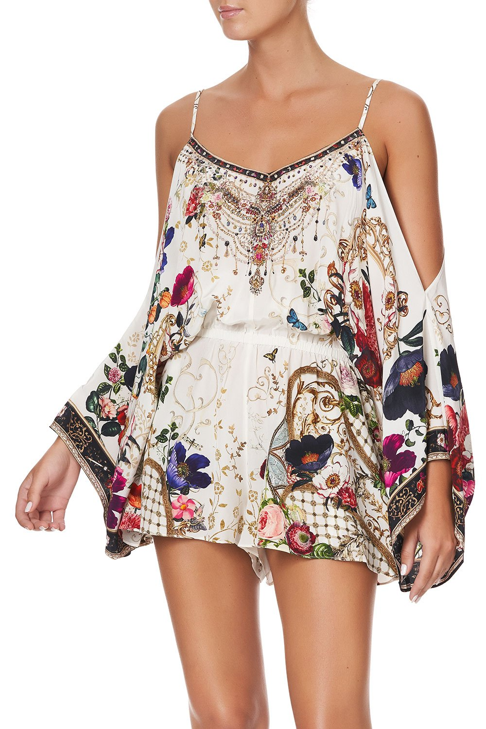 DROP SHOULDER PLAYSUIT FAIRY GODMOTHER