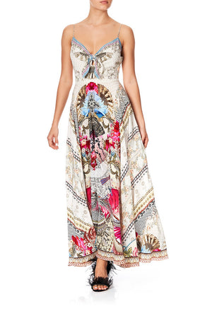 1c377460f38 LONG DRESS WITH TIE FRONT MONTMARTRE HEART (XS)