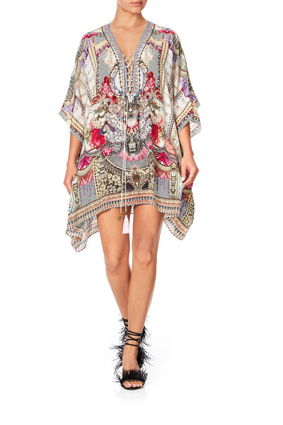 SHORT LACE UP KAFTAN MONTMARTRE HEART