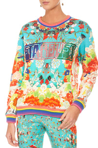 CAMILLA GALAXY GIRL CORE SWEATER