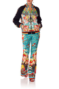 CAMILLA GALAXY GIRL HIGH WAISTED FLARED TROUSER