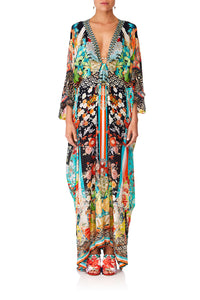 CAMILL GALAXY GIRL SPLIT SLEEVE KAFTAN WHARDWARE