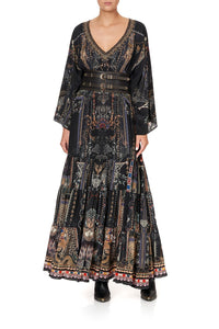 GATHERED PANEL DRESS SON OF SEVEN QUEENS
