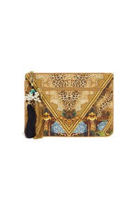 THE GYPSY LOUNGE SMALL CANVAS CLUTCH