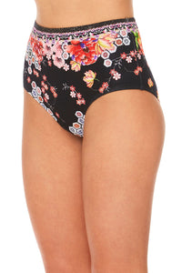 CAMILLA PAINTED LAND HIGH WAISTED BRIEF