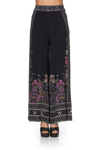 JERSEY WIDE LEG PANTS RESTLESS NIGHTS
