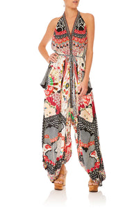 CAMILLA VINTAGE VIXEN JUMPSUIT WITH DROP CROTCH PANT
