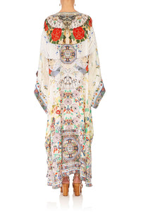 CAMILLA TIME AFTER TIME KAFTAN W SHEER SLEEVE