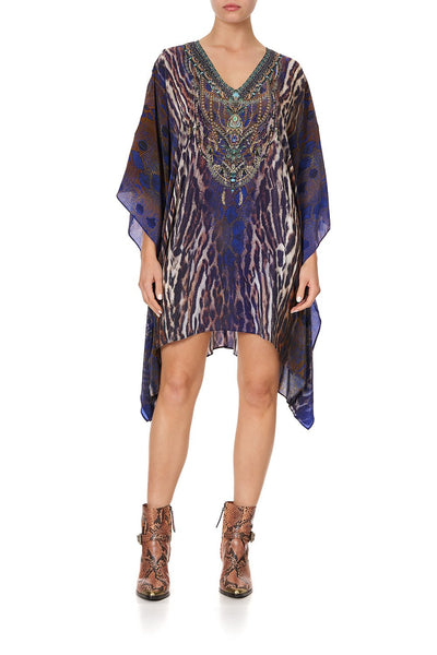 KAFTAN WITH BUTTON UP SLEEVES KOMODO QUEEN