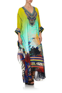 KAFTAN WITH SHEER SLEEVE SOUTHERN MERMAID