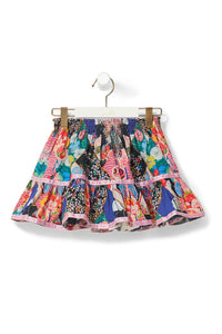 CAMILLA POSTCARDS FROM MARS KIDS SHORT SKIRT W TRIM