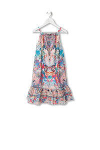 KIDS' FRILL HEM DRESS MISO IN LOVE