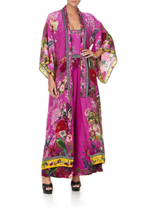 KIMONO COAT JUNGLE LANGUAGE