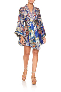 KIMONO WRAP DRESS WITH OBI DARLING'S DESTINY