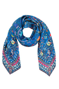 KINDNESS KALEIDOSCOPE LARGE SQUARE SCARF