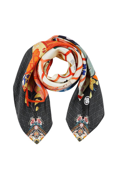 CAMILLA KISSING THE SUN LARGE SQUARE SCARF