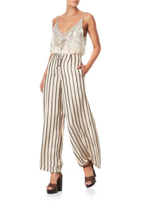 LACE UP FRONT FLARED PANT MEMORIES OF MOREE