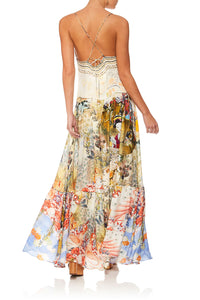 CAMILLA LADY LABYRINTH U-RING MAXI DRESS