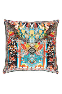 CAMILLA GALAXY GIRL LARGE SQUARE CUSHION