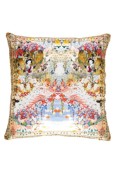 CAMILLA LADY LABYRINTH LARGE SQUARE CUSHION