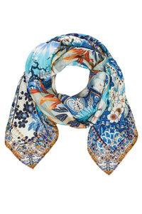 CAMILLA TOKYO TRIBE LARGE SQUARE SCARF