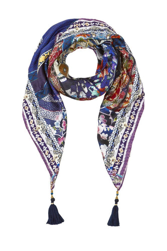 LARGE SQUARE SCARF DARLING'S DESTINY