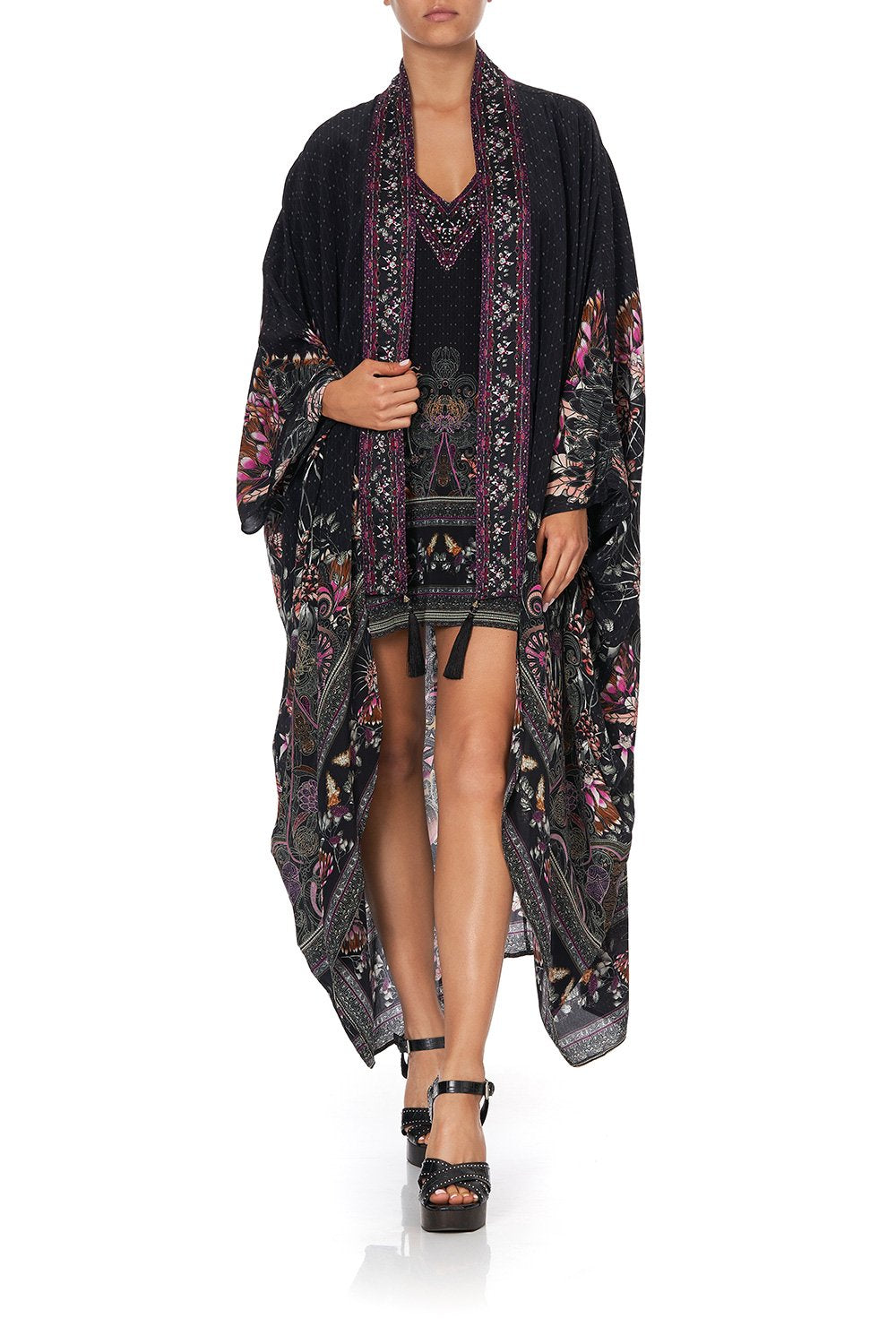 LAYER WITH KIMONO COLLAR RESTLESS NIGHTS