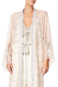 LAYERING ROBE WITH LACE INSERT SOUTHERLY CHANGE